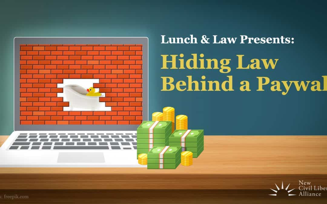 Hiding Law Behind a Paywall